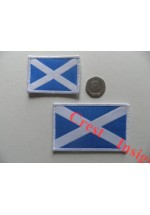 1814s St Andrews flag patch. 40 x 55mm.
