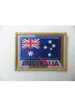 1838d Australia flag patch, Desert.