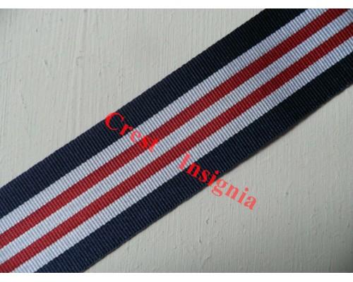 7055 Military Medal, medal ribbon, per metre.