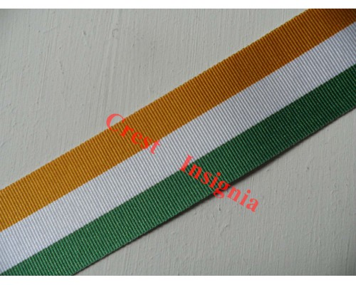 7152 Kings South Africa Medal, medal ribbon, per metre