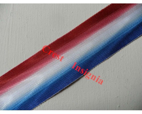 7166 1914 + 1914/15 Star medal ribbon, per metre.