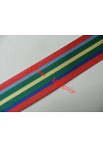 7181 Pacific Star medal ribbon, per metre.