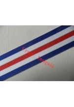 7184 France & Germany Star, medal ribbon, per metre.