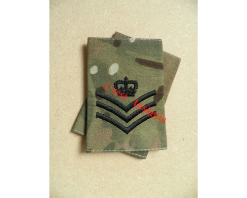 1004mtp UK Forces, Staff/Colour Sgt. MTP Rank Sliders