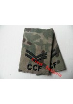 1042 CCF, MTP Rank Sliders. Corporal.