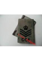 1044 CCF, MTP Rank Sliders.  Staff Sergeant.