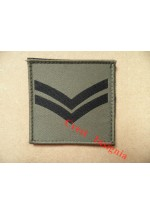1072 Ubacs/MTP Velcro Rank Patch. Corporal.