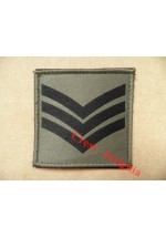 1073 Ubacs/MTP Velcro Rank Patch. Sergeant.